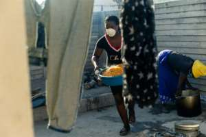 The pandemic has only worsened food shortages caused by economic and agricultural crisis.  By Jekesai NJIKIZANA (AFP)