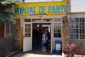 The Panzi hospital serves as a clinic for gynaecological and obstetric care.  By Alain WANDIMOYI (AFP)
