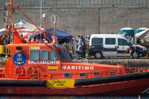 The plan to set up emergency migrant camps also involves reinforcing Salvamento Maritimo's coastguard rescue teams.  By DESIREE MARTIN (AFP)