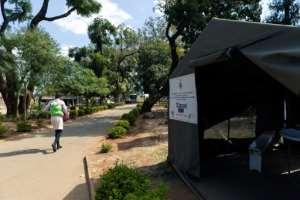 The precious network of clinics has been set up with US help.  By Jekesai NJIKIZANA (AFP)