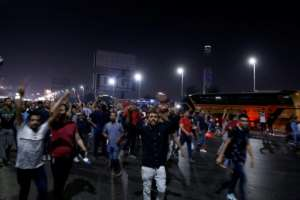 The protests came on the back of an online call by Mohamed Aly, an exiled Egyptian businessman, for Sisi to be toppled.  By STR (AFP)