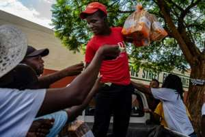 The protests in Zimbabwe were fuelled by daily shortages of banknotes, fuel, food and medicine, as well as mass unemployment.  By ZINYANGE AUNTONY (AFP/File)