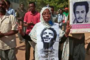 The protests took place in the capital and its twin city of Omdurman following online calls by the Sudanese Professionals Association, a trade union alliance that spearheaded the protests against Bashir.  By Ebrahim HAMID (AFP)