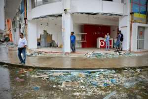 The Red Cross described the destruction in Beira as