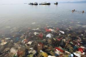 The world currently produces more than 300 million tonnes of plastics annually, and there are at least five trillion plastic pieces floating in our oceans, scientists have estimated.  By PERDIANSYAH (AFP)