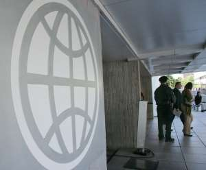 The World Bank has pledged to provide $160 billion in total by June 2021, including $104 billion from its main lending unit the IBR.  By KAREN BLEIER (AFP/File)