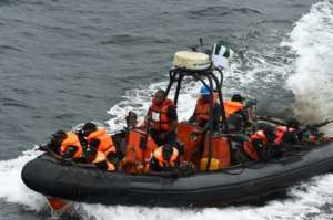 The waters of the Gulf of Guinea, which stretches some 6,000 kilometres from Angola in the south to Senegal in the north, are among the most dangerous in the world for piracy.  By PIUS UTOMI EKPEI (AFP)