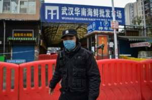 The wet market in China's Wuhan where the virus is believed to have emerged was shut down after the outbreak.  By Hector RETAMAL (AFP)