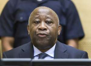 The trial of Laurent Gbagbo for crimes against humanity is still not resolved after seven years spent in detention.  By MICHAEL KOOREN (POOL/AFP/File)
