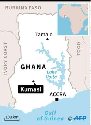 The two women were abducted in Kumasi, Ghana's second-largest city.  By Sophie RAMIS (AFP)