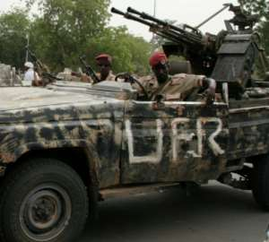 The Union of Forces of Resistance (UFR) is a rebel coalition that tried and failed to overthrow Chad's President Idriss Deby in 2008.  By Nelly Staderini (AFP/File)
