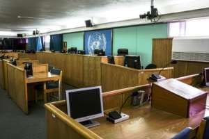 The UN's International Residual Mechanism for Criminal Tribunals has, since 2010, handled outstanding and ongoing cases from the former International Criminal Tribunal for Rwanda (pictured 2014) that tried suspects in the 1994 genocide.  By Nichole Sobecki (AFP/File)