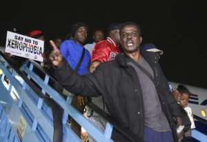 The violence saw hundreds of migrant workers repatriated to Nigeria.  By PIUS UTOMI EKPEI (AFP/File)