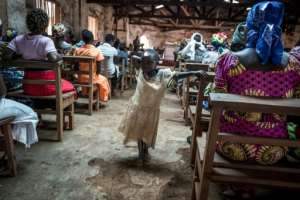 The viral haemorrhagic fever broke out in the Beni region of the eastern North Kivu province on August 1 in the middle of school holidays.  By John WESSELS (AFP/File)