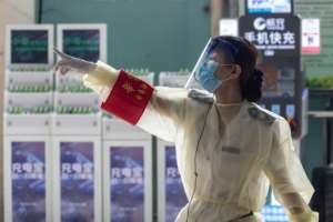 The virus first emerged in China late last year but has now killed more than 227,000 globally and infetced at least 3.1 million.  By STR (AFP)