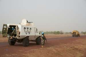 There are currently about 14,700 troops and police deployed in Mali.  By MICHELE CATTANI (AFP/File)