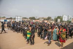 There have been multiple protests across Togo since August, with the current talks aimed at ending the crisis.  By Yanick Folly (AFP/File)