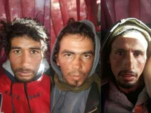 Three Islamic State group supporters were sentenced to death over the murders.  By - (MOROCCAN POLICE/AFP/File)