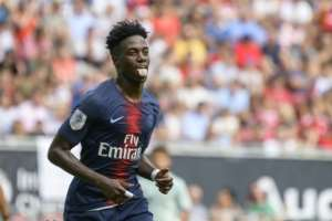 Timothy Weah, son of Liberian president and football legend George, scored his first goal for Paris Saint-Germain against Bayern Munich.  By Jure Makovec (AFP)