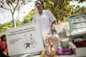 To try to curb the population explosion, Mozambique's government is in the process of changing the law to allow marriage only at 18, rather than at 16 with parental consent.  By GIANLUIGI GUERCIA (AFP)