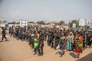 Togolese protesters took to the streets in Lome on January 20, to protest against the government of President Faure Gnassingbe.  By Yanick Folly (AFP/File)