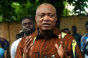 Togo's opposition leader Jean-Pierre Fabre is an ally and rival of Tikpi Atchadam.  By PIUS UTOMI EKPEI (AFP/File)