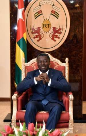 Togo's President Faure Gnassingbe and his family have been in power for some 50 years