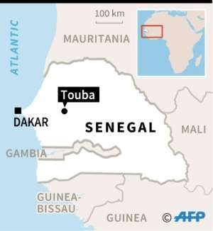 Touba, Senegal's second largest city and the seat of the influential Mouride Brotherhood.  By Thomas SAINT-CRICQ (AFP)