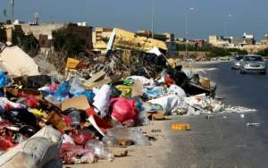 Tripoli's trash turmoil isn't a new phenomenon in the city, but it has reached alarming proportions in recent months.  By Mahmud TURKIA (AFP)