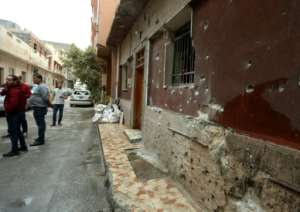 Tripoli's Batata neighbourhood has been hit by the latest violence despite UN calls for a ceasefire.  By Mahmud TURKIA (AFP)