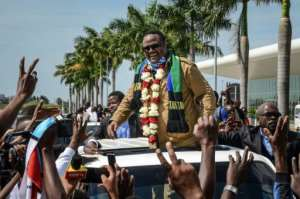 Tundu Lissu returned to Tanzania to run for president after being shot 16 times in an assassination attempt.  By STR (AFP/File)
