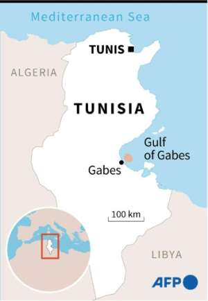 Map locating the city of Sfax in Tunisia.  By  (AFP)
