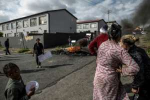 Turffontein is a working class suburb on the way to Soweto. By MARCO LONGARI (AFP)