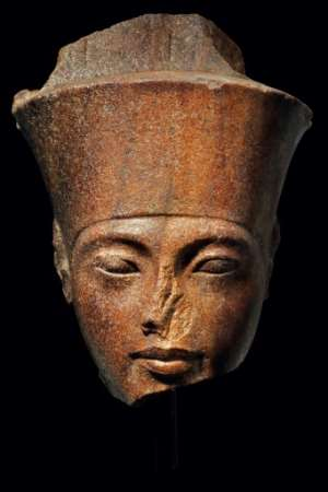 Tutankhamun is thought to have become a pharaoh at the age of nine and to have died about 10 years later.  By HO (AFP)