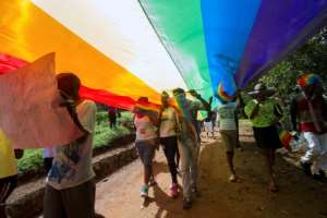 Uganda is notorious for its intolerance of homosexuality -- which is criminalised in the country -- and strict Christian views on sexuality in general.  By ISAAC KASAMANI (AFP/File)