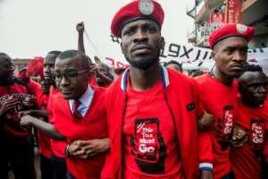 Ugandan musician turned politician Robert Kyagulanyi has been charged with treason.  By Sumy SADURNI (AFP/File)