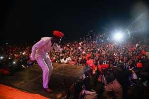 Ugandan musician-turned-politician Robert Kyagulanyi, commonly known as Bobi Wine, has said he is