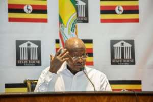 Uganda's President Yoweri Museveni seized power in 1986 at the head of a rebel army.  By Sumy SADURNI (AFP)