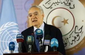 UN envoy Ghassan Salame said Libya talks would go ahead as scheduled later this month. By Mahmud TURKIA (AFP)