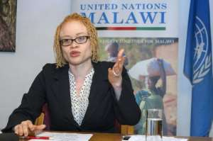 UN expert Ikponwosa Ero says the Malawian authorities seem to waking up to the spate of attacks on people with albinism. By Amos Gumulira (AFP/File)