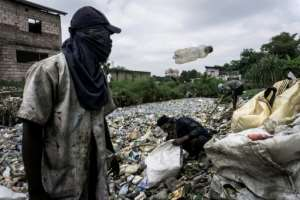 UN officials say the success of African plastic bag bans varies from country to country.  By JOHN WESSELS (AFP)