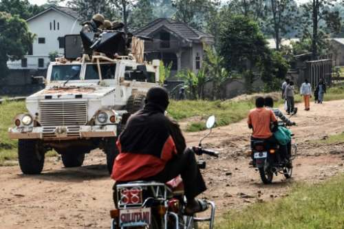 UN peacekeepers operating in eastern DR Congo have also been targeted by the ADF militia.  By Alain WANDIMOYI (AFP)