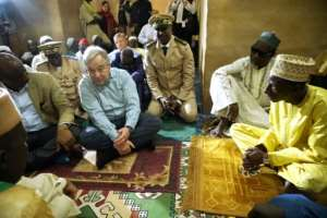 UN Secretary-General Antonio Guterres has said the security situation in the Sahel continues to deteriorate. By Sebastien Rieussec (AFP)
