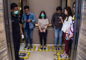 UN Secretary-General Antonio Guterres warned Thursday the virus could 'kill millions of people' if allowed to spread unchecked.  By JUNI KRISWANTO (AFP)