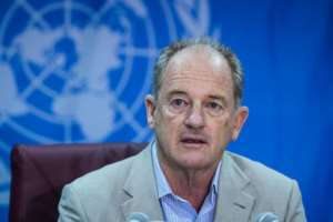 UN special envoy for South Sudan David Shearer has been concerned over the slow implementation of the peace agreement.  By Akuot CHOL (AFP)
