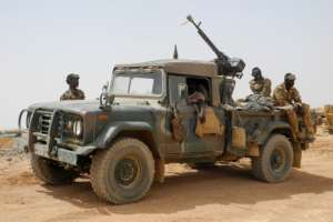 Under fire and under-funded, Mali's armed forces are making no headway against the jihadist insurgency, despite the presence of French and UN troops.  By Agnes COUDURIER (AFP)