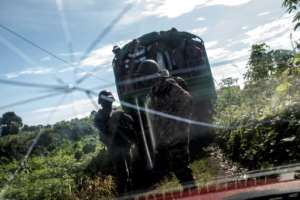 Unprecedented violence has marred the past year in Cameroon's two mainly anglophone provinces in the northwest.  By MARCO LONGARI (AFP)
