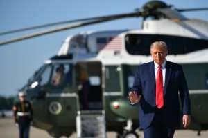 US President Donald Trump has lambasted China over the virus.  By MANDEL NGAN (AFP)