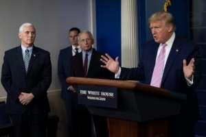 US President Donald Trump warned Americans to expect a