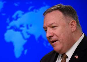 US Secretary of State Mike Pompeo criticised both China and the WHO.  By ANDREW CABALLERO-REYNOLDS (AFP/File)